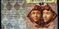The Weasley Twins (Trading Card)