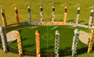 Quidditch field