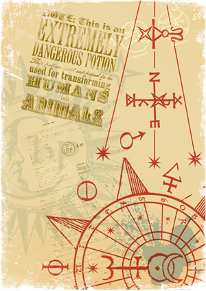 File:Hogwarts™ Apothecary Dept Stamp 4 - Harry Potter and the Half-Blood Prince™.png