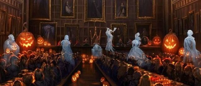 File:Hogwarts PM B3C8M1 GreatHallHalloweenWithGhostsAndStudents Moment.jpg