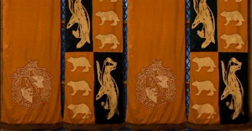 File:Hufflepuff Banners and Logo.JPG