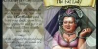 The Fat Lady (Trading Card)
