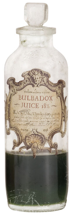 Bulbadox juice