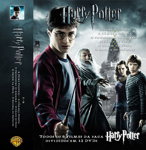 File:Portuguese six Harry Potter movies Cover set.jpg