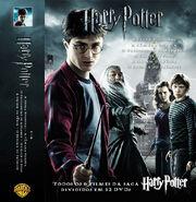 Portuguese six Harry Potter movies Cover set