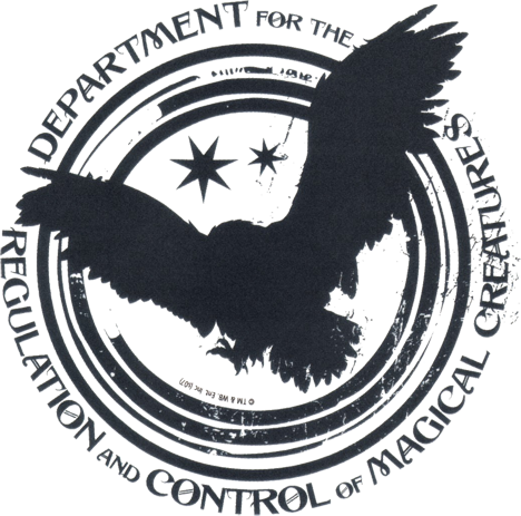 File:Department for the Regulation and Control of Magical Creatures logo.png