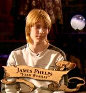 James Phelps (Fred Weasley) PoA screenshot