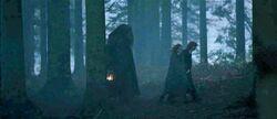 Hagrid with trio
