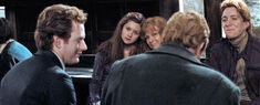 Weasleys after battle
