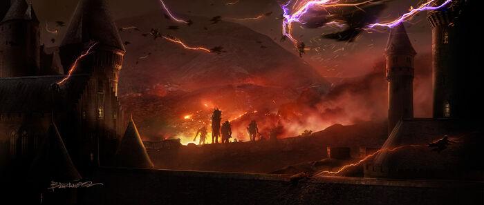Concept artwork 1 Battle of Hogwarts