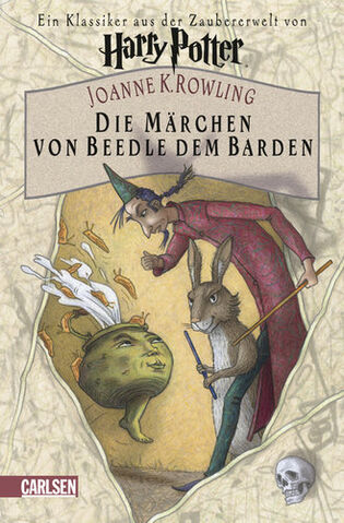 File:Tales of Beedle the Bard book Cover for German Version.jpg