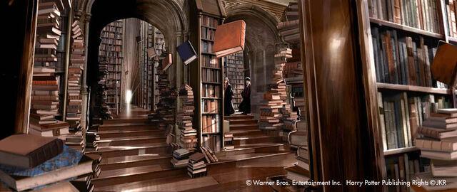 File:Concept Artwork Hogwarts Library.jpg