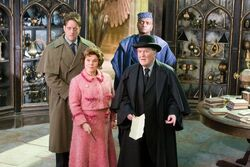 HP5 Dawlish, Umbridge, Fudge and Shacklebolt