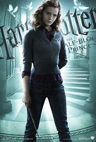 File:HBP Main Character Banner Hermione Granger.jpg
