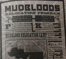 Mudbloods Relocation Program