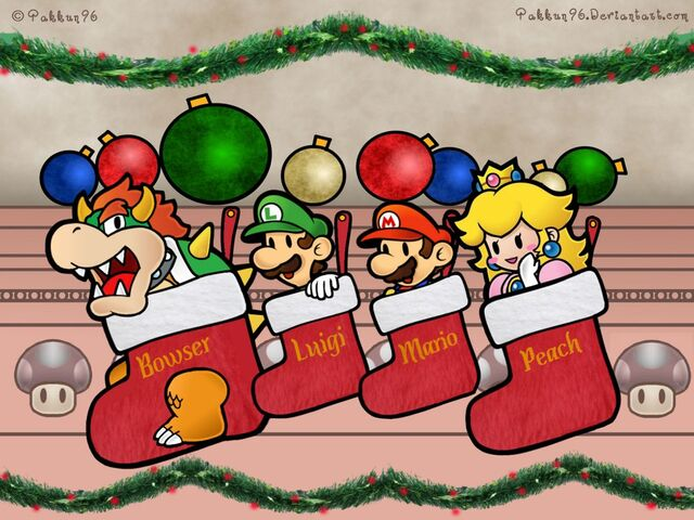 File:Super-Mario-Characters-In-Christmas-Socks-Wallpaper2-1024x768.jpg