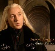 Jason Isaacs (Lucius Malfoy) CoS screenshot