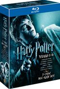 Harry Potter Years 1-6 Blu-Ray Box Set 1