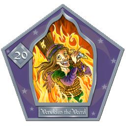 Wendelin The Weird-20-chocFrogCard
