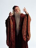 Promo pic of Richard Harris as Professor Dumbledore (CoS)