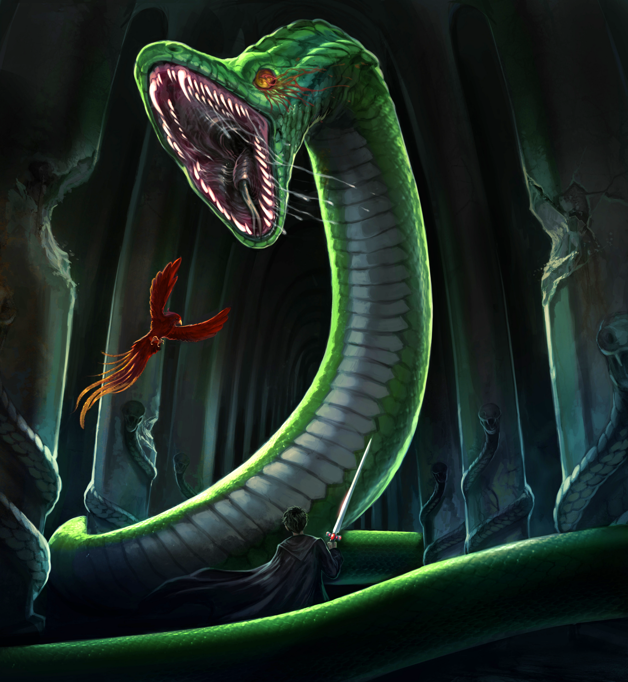 serpent of slytherin harry potter wiki fandom powered by wikia