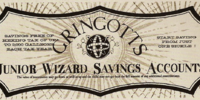 Junior Wizard Savings Account