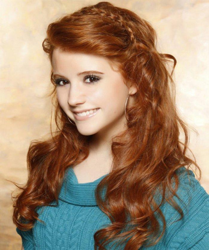 Image - Fille-eaux-cheveux-roux-coiffure-simple-et-rapide-pour-l ...