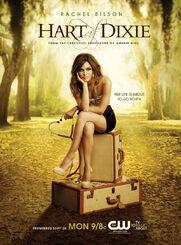 Hart of dixie poster art rachel bilson 2011 a p