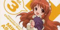 The Melancholy of Haruhi Suzumiya Character Song Vol. 3 Mikuru Asahina
