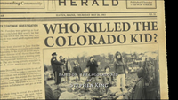 Who killed the colorado kid title