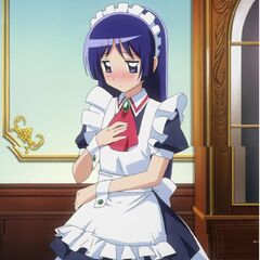 Isumi in another maid uniform