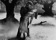 Wolf Man attacks Gwen
