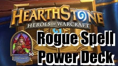 Hearthstone - Rogue Spell Power Deck