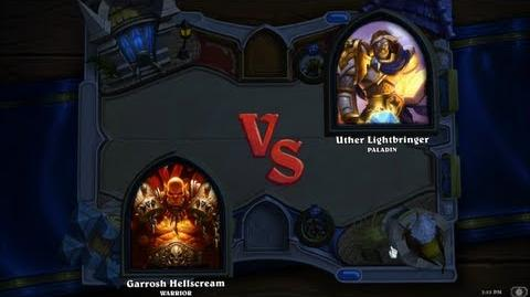 Hearthstone Heroes of Warcraft - Paladin vs