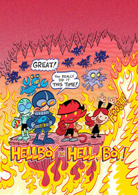 Hellboy in Hell, boy!