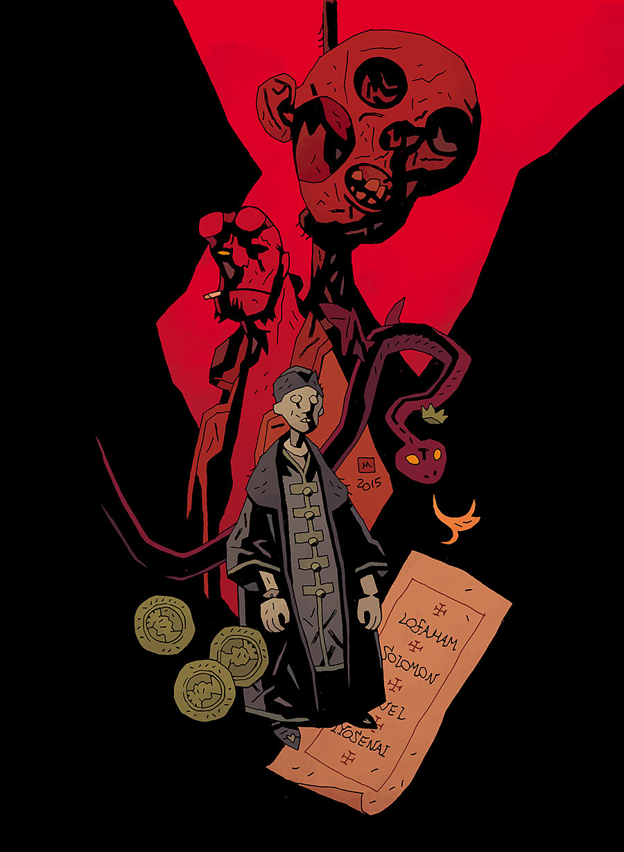 The Exorcist of Vorsk | Hellboy Wiki | FANDOM powered by Wikia