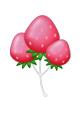 Pinkstrawberryballoon
