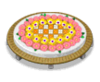 Flowerbedwithredflowerbench
