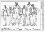 Height chart hellsing characters