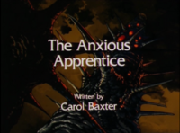 The Anxious Apprentice