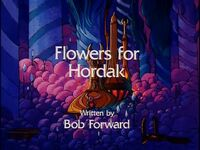 Flowers for Hordak