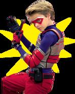 Kid Danger fist grab