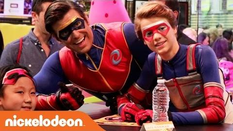 Henry Danger Takes on Comic-Con Nick
