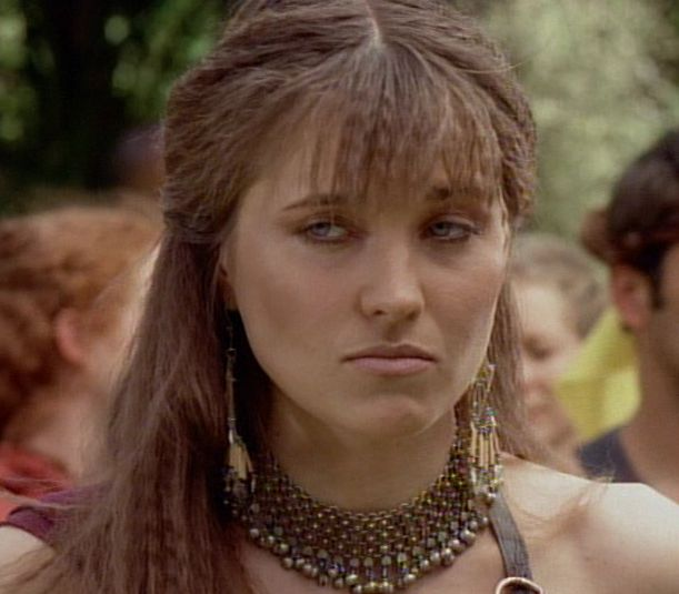 Lucy Lawless Natural Hair Color
