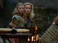 Young Callisto and Mum