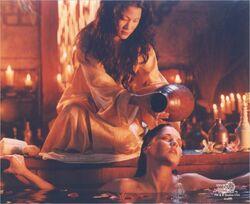 Lao Ma and Xena