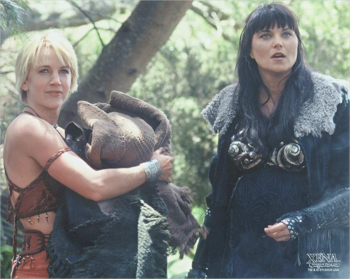 Image - Xena and Gab season 5.jpg | Legendary Journeys ...