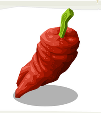 Ghost Chili Pepper