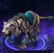 Lunar Tiger Mount - Blue