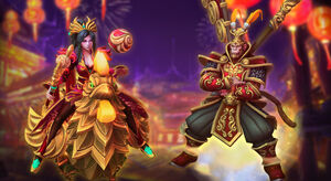 Lunar Festival skins
